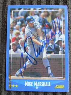 1988 Score #135 Mike Marshall (TTM) 11/26/2014-1/3/2015--38 Days