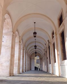 The perfect harmony of the Angelo Mai's Library arcades - Instagram by 1step2theleft