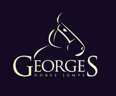 Logo   George's Horse Jumps by Daniel Brousseau, via Behance