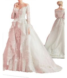 Fanciest Women's Long Sleeve Wedding Dresses Lace 2017 Ball Bridal Gowns Ivory US20W. Dear Customer,Welcome to Fanciest!Be a happy purchasing jouney:). we could custom made this dress for any size or color,if you need,please e-mail us with your exact measurements of your bust,waist,hips,hollow to floor with shoes or the color number.Thank you. The fabric is Lace with light, breathable and straight features. Dry clean or Hand wash. Can be used as Bridesmaid Dress, Wedding Dress, Evening…