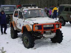 Russian Lada Niva 4 x4