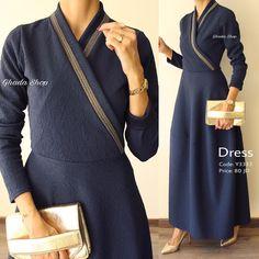 Dress casual vintage classy new Ideas Abaya Fashion, Muslim Fashion, Modest Fashion, Indian Fashion, Love Fashion, Girl Fashion, Fashion Outfits, Womens Fashion, Modest Dresses