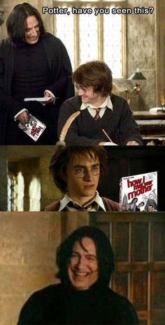 Harry Potter....hahahaha this made me crack up.