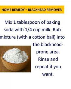 Blackhead remedy