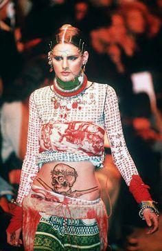 ☥ FLY GIRL DAYZ: Jean Paul Gaultier 1994 !!!!