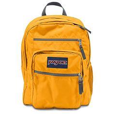 JanSport Big Student Backpack - Beez Yellow #Jansport #Backpack #Yellow #Bees #OrlandotRend