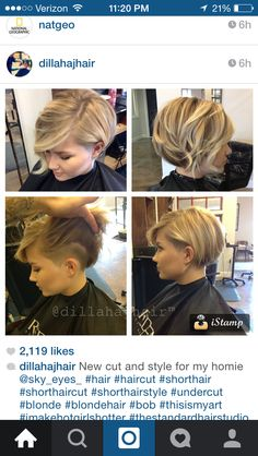 Love the undercut.. Just hate growing them out!