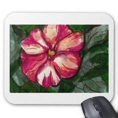 Pink Balsam Flower Mouse Pad