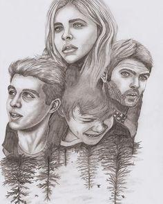 Amazing 5th Wave fan art sketch by Luis Benitez on Instagram
