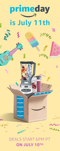 Boom. Prime Day has begun! Get amazing deals on the stuff you love now.