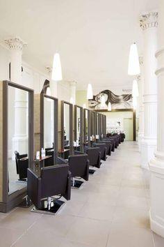 Small Hair Salon Design Ideas   beauty salon floor plans,hair salon design,hair salon floor plans, Hair Salons, Salons Decor, Salons Ideas, Decorating Ideas, Barbara Daley, Future Salons, Beauty Salons, Daley Hair, Spa