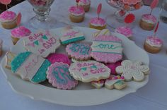 Shabby Chic Hand Decorated Sugar Cookies