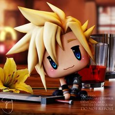 Final Fantasy Funny, Final Fantasy Characters, Final Fantasy Vii Remake, Fantasy Series, Fantasy World, Fantasy Art, Cloud And Tifa, Cloud Strife, Sans Art