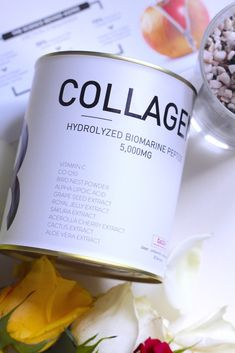 Introducing The New Project B Hydrolyzed Biomarine Collagen Peptide 5,000mg What Happened To Us, Alpha Lipoic Acid, Royal Jelly, Bright Skin, Our Body, Collagen, Things To Come, Fruit, Natural