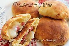 Bomboloni di patate salati cotti in forno Hot Dog Buns, Hot Dogs, Bomboloni, Biscotti, Bread, Cooking, Oven, Kitchen, Brot