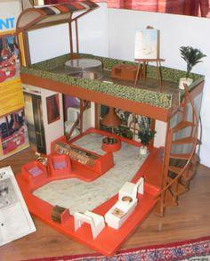 Vintage Tuesday Taylor's 70's Penthouse Apartment Original Box Ideal Free s H   eBay