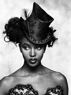 Naomi campbell for pirelli calendar 1987 by terence for Naomi campbell pirelli