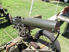 Browning .30 Caliber M1917 Machine Gun. Tactical Gear, Say Hello, Cannon, Firearms, Machine Guns, Browning, Arsenal, Ideas, Weapons