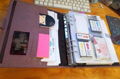 A5 Filofax Finsbury in Antique Rose- As a Household Planner