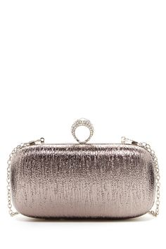 Pink Cosmo | Crystal Ring Box Clutch