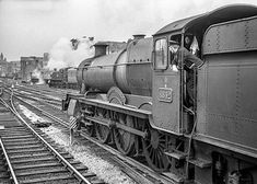 scanned negative at Diesel Locomotive, Steam Locomotive, Uk Rail, Steam Railway, Birmingham Uk, British Rail, Great Western, Hill Station, Steam Engine
