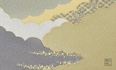 181.開雲/富宏染工*和柄名刺 | アイテム一覧 | 和柄名刺印刷 | 和札 - WAFUDA -