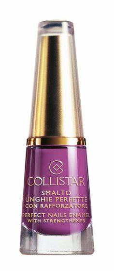 Smalto Unghie Perfette n. 55 VIOLA LACCA #collistar #summer #estate #colors #colori #nails #unghie #smalti #makeup #viola #violet