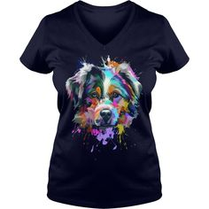 Splash Art Australian Shepherd Shirt Puppy Lover Gift #gift #ideas #Popular #Everything #Videos #Shop #Animals #pets #Architecture #Art #Cars #motorcycles #Celebrities #DIY #crafts #Design #Education #Entertainment #Food #drink #Gardening #Geek #Hair #beauty #Health #fitness #History #Holidays #events #Home decor #Humor #Illustrations #posters #Kids #parenting #Men #Outdoors #Photography #Products #Quotes #Science #nature #Sports #Tattoos #Technology #Travel #Weddings #Women
