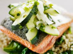 Baked Salmon with Oregano recipe - Prevention Magazine - Yahoo!7 Lifestyle