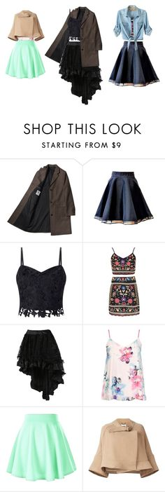 """""""50's Day"""" by madifab ❤ liked on Polyvore featuring Lipsy, Dorothy Perkins and Chloé"""