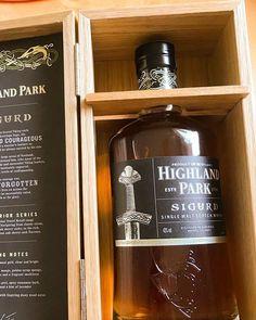 Tomorrow I have to taste this single malt Highland Park Sigurd. Single Malt Whisky, Estes Park, Scotch Whisky, Liquor Cabinet, Wood, Instagram, Woodwind Instrument, Scotch Whiskey, House Bar