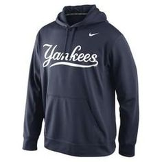 New York Yankees Nike Men's KO Wordmark Perfomance Hoodie - Navy New York Yankees, Yankees Fan, Yankees Outfit, Dodgers Fan, Oakland Athletics, Detroit Tigers, Baltimore Orioles, Chicago White Sox, Cowls