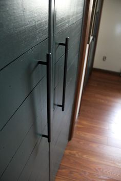 Modern Hardware for Closet Doors