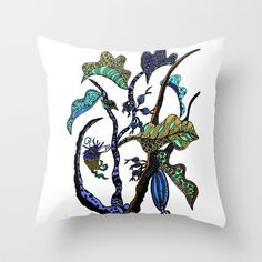 Jolie Ville Throw Pillow by Marie Elke Gebhardt - $20.00