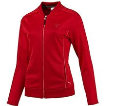 FERRARI TRACK JACKET *** You can find more details by visiting the image link.-It is an affiliate link to Amazon. #fashionsweaters
