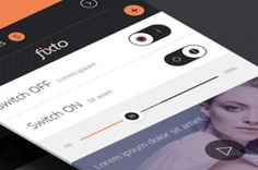 Fixto is a bold and clean iPhone UI Kit to create inspired flat and modern UI app design. Easily pick a...