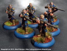 Cygnar long gunners