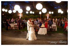 First Dance At Garden Lawn. Four Seasons Resort Hualalai Weddings