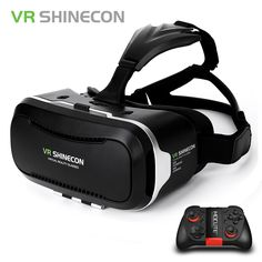 Base Stations: No Gesture Recognition: No Display Number: None FOV: No Glasses Type: Virtual Reality Controllers: Yes Wireless network Type: No Vie. Virtual Reality Education, Augmented Virtual Reality, Virtual Reality Systems, Virtual Reality Headset, Goggles Glasses, 3d Glasses, Bluetooth, Smartphone, Vr Shinecon
