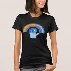 Melancholy Sadness Inside Out Spirals T-Shirt