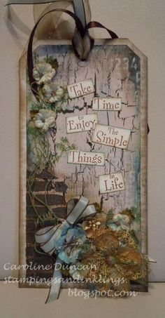 Simple Things Tag...
