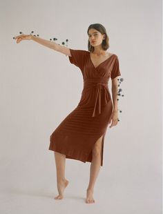 Fall shopping: Sylvana Wrap Dress by Paloma Wool