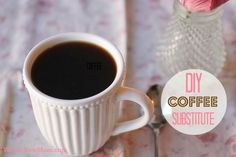 Rich, Delicious, and Nourishing Coffee Substitute Recipe - Great if you're trying to ditch caffeine, or for drinking late in the day or in the evening. Contains super healthy ingredients! I drink mine with coconut oil, stevia, and a dash of cocoa. YUM!