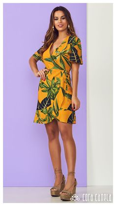 LOOK BOOK 4 • Coleção Cosmopolitan • Cora Canela Simple Dresses, Beautiful Dresses, Short Dresses, Summer Dresses, Formal Dresses, Korean Casual Outfits, Casual Summer Outfits, Ankara Dress, African Dress