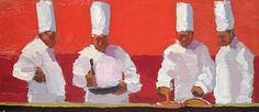 Four Chefs by John Healey