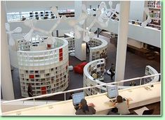 Openbare Biblitheek Amsterdam: http://www.oba.nl/ #Architecture #Library #Amsterdam