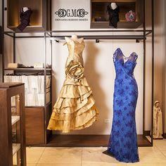 Giovanna Maroso Vestidos de noche cortos con sobre posición en los mejores materiales y pedrería, el lujo en piezas de arte para lucir perfecta.