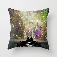 Looking to add a little colour or fun to your room? Throw pillows are a great way to add character!  #ThrowPillows #Universe #Colours #TheUniverseWasOurs