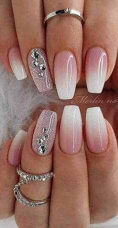 cute and amazing ombre nails design ideas for summer part 13 - # . - cute and amazing ombre nails design ideas for summer part 13 – # amazing - Crazy Nail Designs, Different Nail Designs, Ombre Nail Designs, Gel Nail Art Designs, Simple Nail Designs, Rhinestone Nail Designs, Acrylic Nail Designs Glitter, Beginner Nail Designs, Round Nail Designs