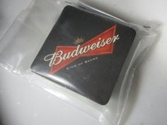 ◕ő #Budweiser Coasters Beer Coasters Cardboard #Drink Coasters Arts and Cra... http://etsy.me/2fSagqw